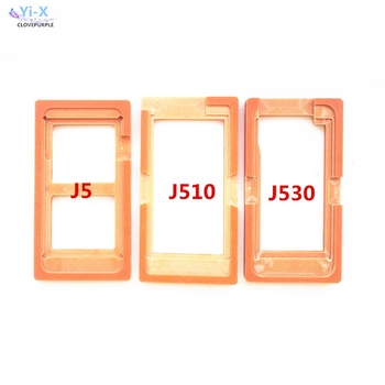 Glue Mould LCD screen glass Mold Holder for samsung galaxy J5 J510 J530 oca molds for samsung J5 2015 2016 2017 image
