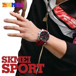 Image 5 - SKMEI reloj informal de cuarzo para hombre, camiseta nueva, resistente al agua, 2019 horas