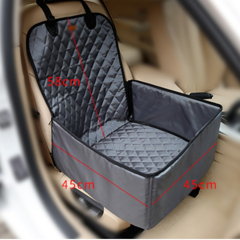 Nylon Waterproof Travel 2 in 1 Carrier For Dogs Folding Thick Pet Cat Dog Car Booster Seat Cover Outdoor Pet Bag Hammock
