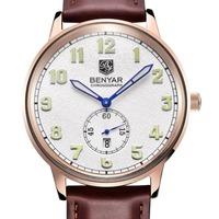 2016 Casual Watches Men Brand BENYAR Luxury Quartz Watch Fashion Business Male Female Watch Women Dress