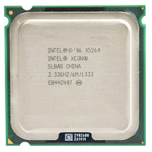 INTEL XONE X5260 dual core 3.3MHZ LeveL2 6M Work on 775 motherboard(China)