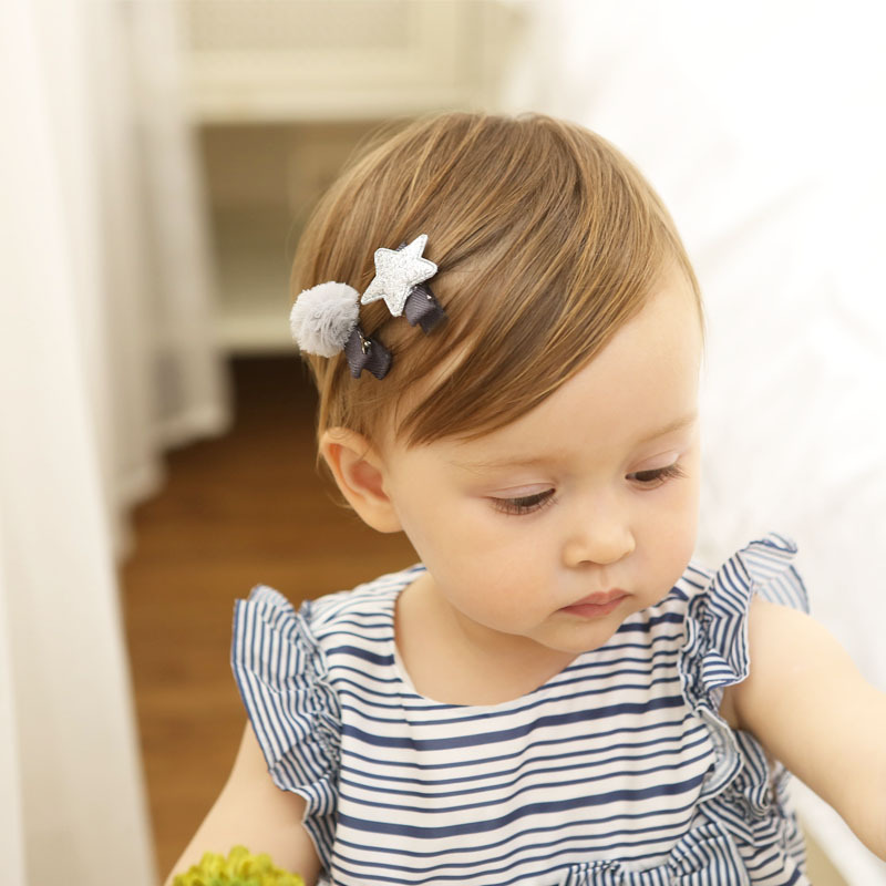 2017 Cute Baby Girl Hairpin Small Kids Children Star Ball Hair Clip Toddler Girls Accessories Bebes Fille Nina Gift Gift Gifts Gift Girlgift Cute Aliexpress