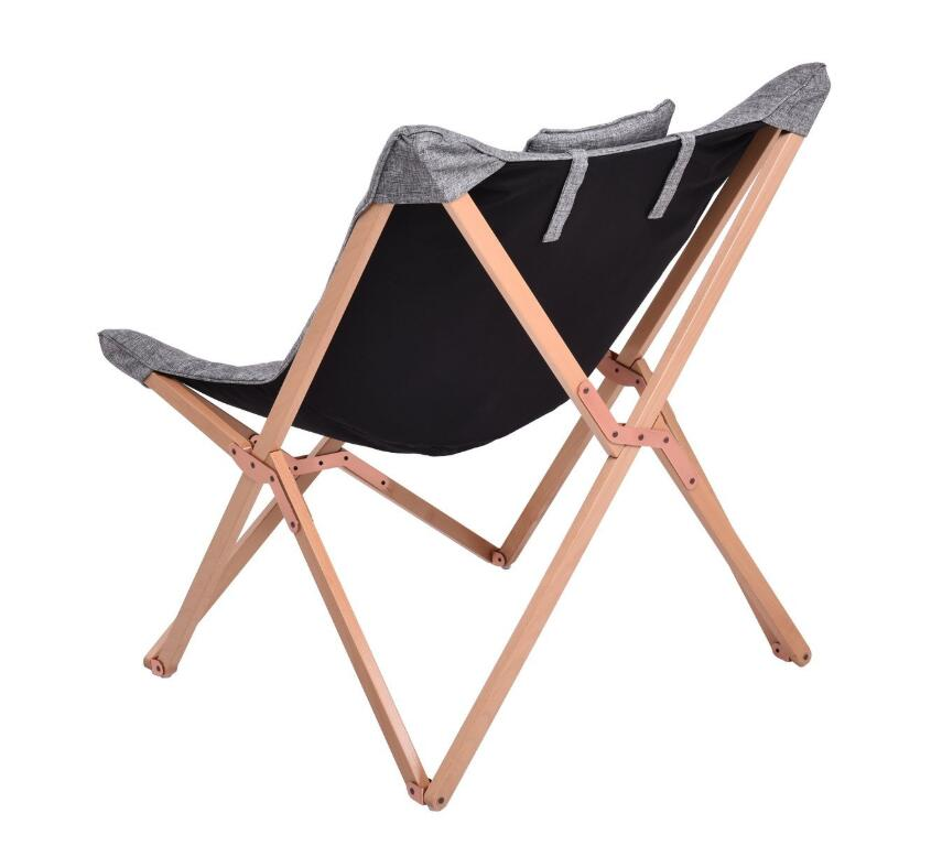 Fällbar fjärilsstol tyg kudde klädsel Vardagsrum Möbler Modern - Möbel - Foto 2