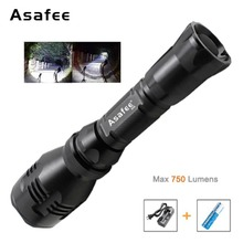 Brinyte B48 Hunting IR Flashlight Cree XM-L2 (U4) RED GREEN 1 Mode Hight Power Led with 18650 Battery Charger