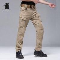 Designer IX7 Men S Tactical Pants Military High Quality 100 Cotton Plus Size Casual Combat Cargo