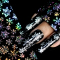 Nail Art Передача Wrap Наклейка All kinds of beautiful snow flake Nail Art Decor Art Передача Фольга легко DIY S615