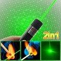 Сжигание высокой мощности лазерной указкой Sdlaser 303 2000 МВт 532nm мощный зеленый красный поп-воздушными баллон астрономия лазерной лазерные указки ручки