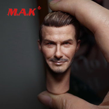 High Quality 1:6 Scale David Beckham Head Sculpt and Male Head Model fit 12 Action Figure for Toys Collection Head Accessory 1 6 scale ancient general head sculpt zhao yun head model fit 12 solider doll for 12 man action figure toys