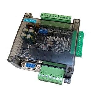 Image 3 - LE3U FX3U 14MR 6AD 2DA RS485 8 input 6 relay output 6 analog input 2 analog (0 10V) output plc controller  RTC (real time clock)