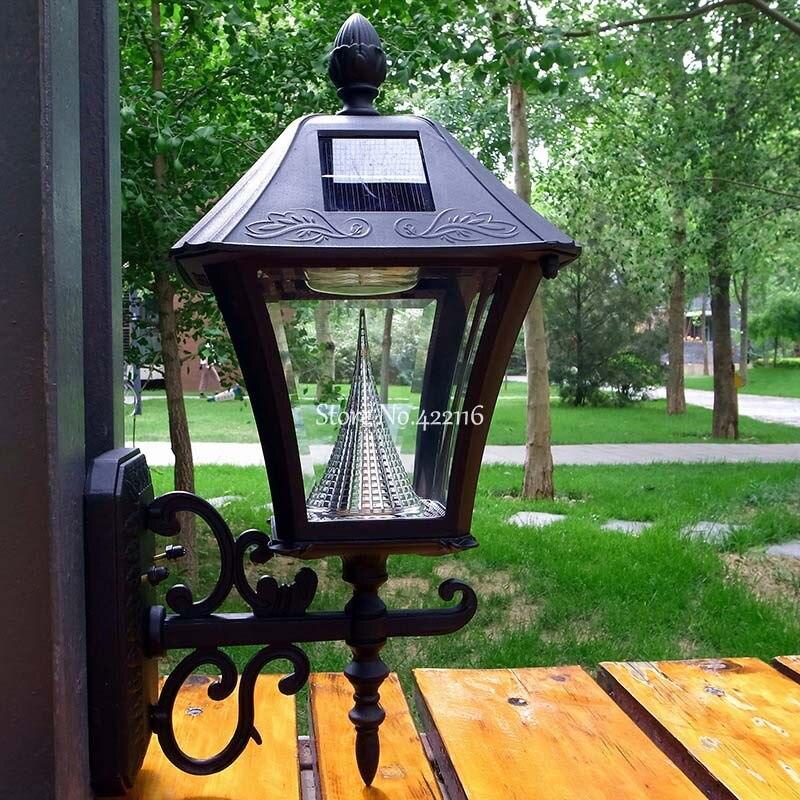 Lamparas Exterior Luces Solares Iluminacion Jardin LED Solar .