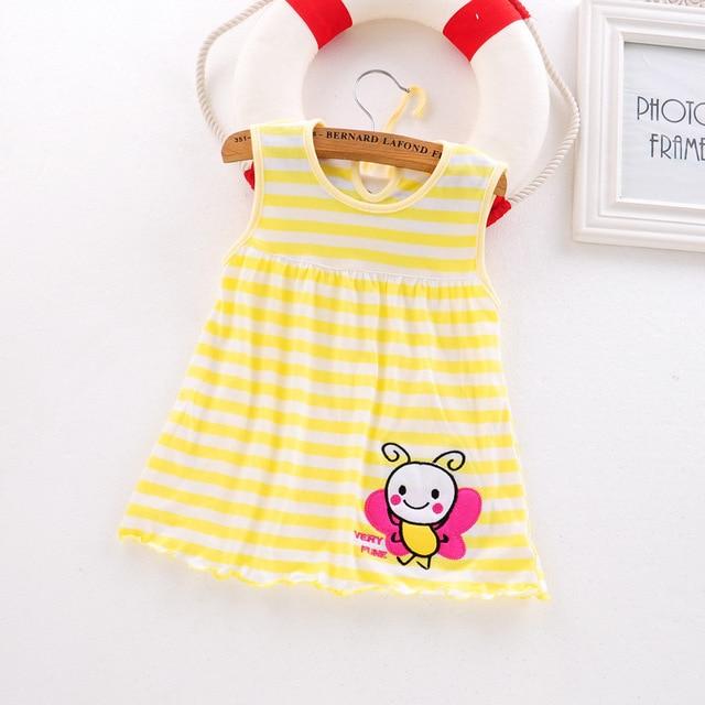2018 letnia sukienka dla dzieci nowe dziewczyny moda Infantile sukienki bawełniane ubrania dla dzieci kwiatowy styl odzież dla dzieci Princess Dress