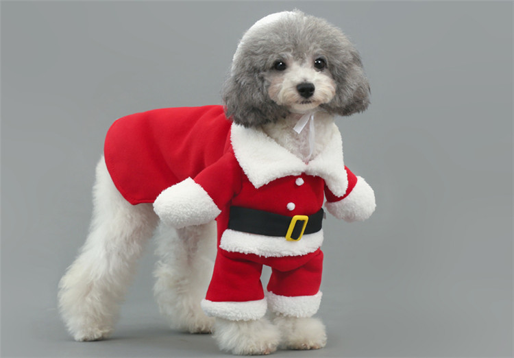 getSubject() aeProduct. - PipiFren Winter Funny Dogs Christmas Clothes Costume Cat Coats
