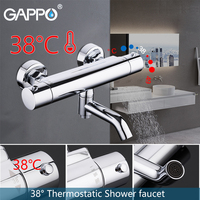 GAPPO thermostatic shower faucet set shower faucet bathroom mixer shower faucet bath mixer Waterfall taps bath shower system