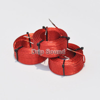 1pcs 1.0mH 1.8mH 0.45mmx7 Multi Strand Wire Speaker Crossover Audio Amplifier Inductor Oxygen Free Copper Wire Coil #Red