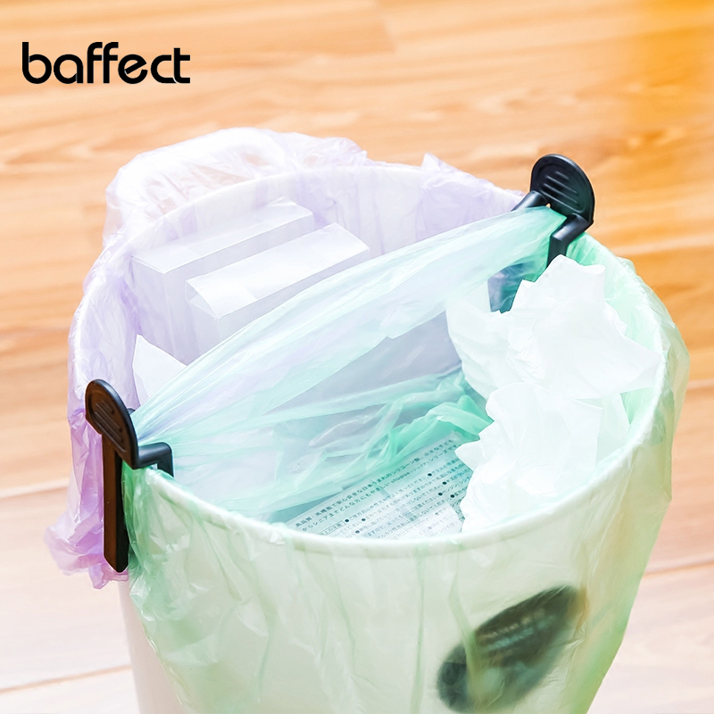 12Pcs/Lot Practical Trash Can Clamp Plastic Garbage Bag Clip Fixed Waste Bin Bag Holder Rubbish Clip Kitchen Storage