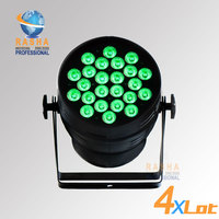 4X LOT Top Brightness Hex 24*18W 6in1 RGBAW UV Alumnium LED Par Can Stage LED Par Light For Stage Event Party Stage Lighting