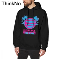 Hotline Miami Vice Hoodies Unisex 2018 New Arrival Fashionable Sweatshirt O neck Big Size