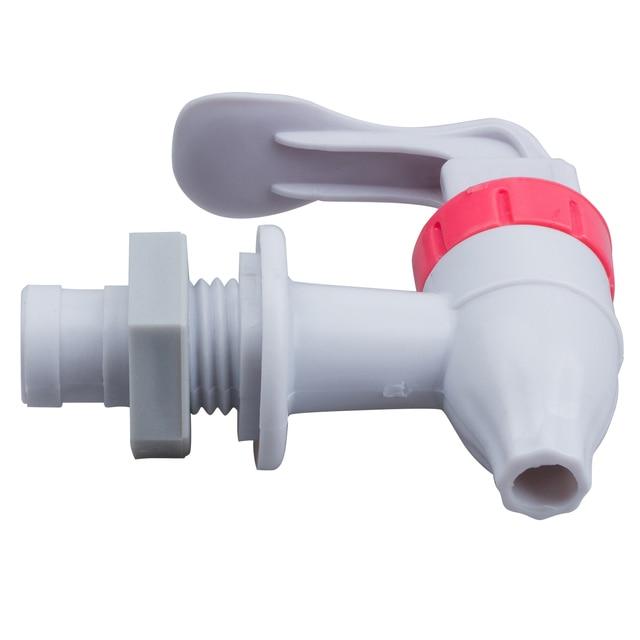 KSOL Venda Quente Branco Vermelho do Impulso Tipo de Substituição De Plástico Dispensador De Água Da Torneira Torneira