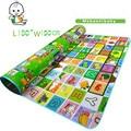Nova EVA kids Play Mat Rastejando Esteiras de Espuma Tapete Criança da Segurança Do Bebê Playmat Piquenique Portátil Tapete Puzzle Game Pad 180X150X0.5 CM