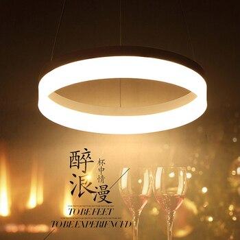 אורות תליון לחדר אוכל מודרני LED lamparas colgantes pendientes תלוי השעיה תאורת מנורת קישוט luminaire