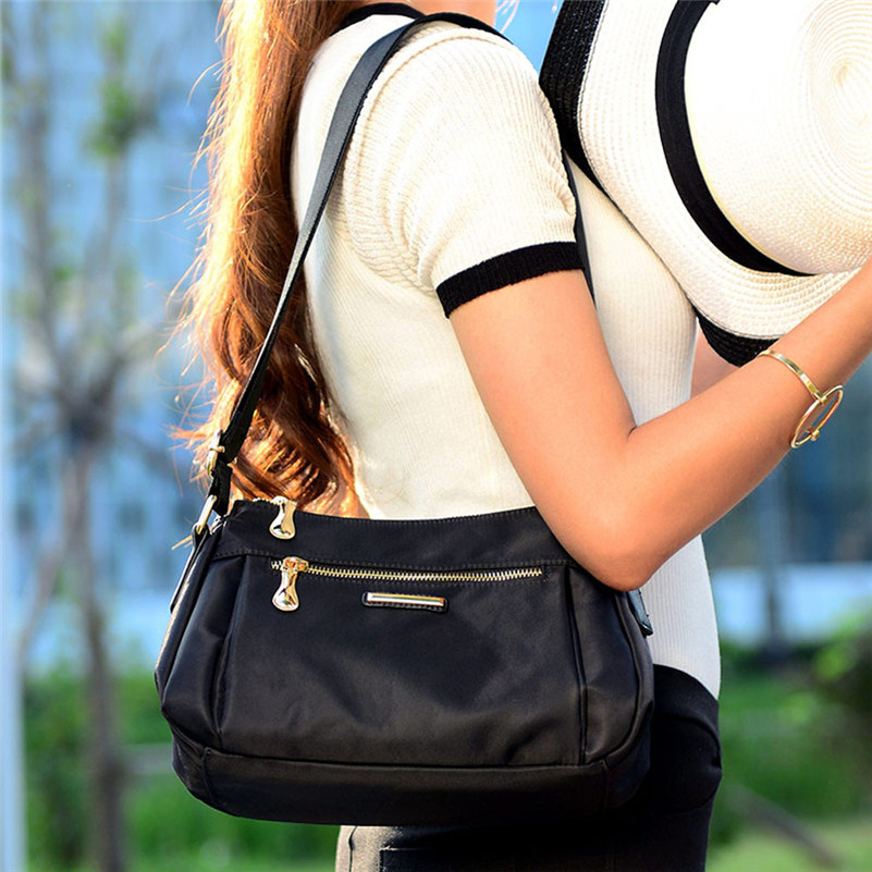 Fashion Women Messenger Bags Handbag Waterproof Nylon Shoulder Bag Crossbody Bags For Women Casual Tote bolsa