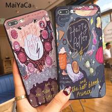 Harry Potter MaiYaCa Quadrinhos Personalizado Ao Cliente Foto Suave Caixa Do Telefone Para Apple iphone 5 5s 5c SE E 6 s 7 8 Telefone caso(China)
