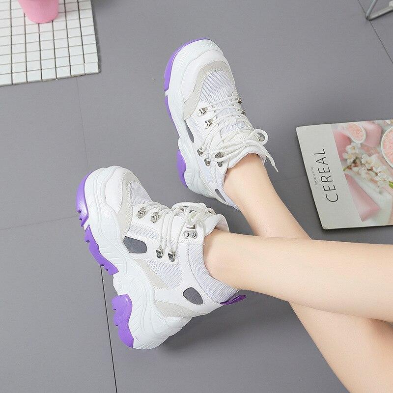 Chaussure Argent 2018 Noir Croix Dame Plate Augmentation De Qualité Marque Blanc Femmes attaché Chaussures Nouveau Jookrrix blanc Femelle forme CqwdZPdx