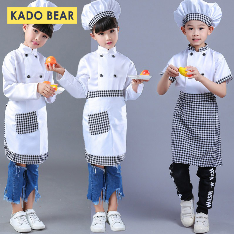 Youngsters Chef Roleplay Uniform Prepare dinner Costumes Child Woman Boy Halloween Occasion Put on Fancy Youngsters Clothes Set Fancy Pageant Garments Clothes Units, Low cost Clothes Units, Youngsters Chef...