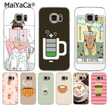 MaiYaCa Relax Coffee Reading High Quality Classic Phone Case for