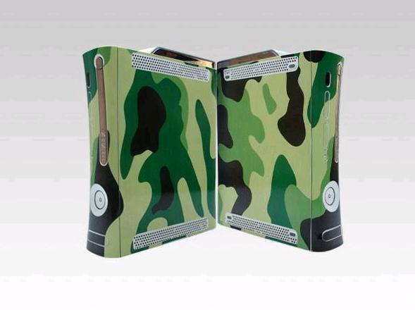 Aufkleber 2019 Neuestes Design Armee Grün 030 Vinylhaut-aufkleber-schutz Für Microsoft Xbox 360 Original-fett Skins Aufkleber Für Xbox360 Eleganter Auftritt