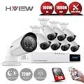 8-КАНАЛЬНЫЙ Системы ВИДЕОНАБЛЮДЕНИЯ HDMI 720 P NVR Система Видеонаблюдения Камеры 8 ШТ. ИК Открытый Водонепроницаемая Видео Камера Видеонаблюдения Комплекты С 1 TDisk