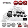 Sistema de CCTV 8CH HDMI 720 P NVR Sistema de Cámaras de Seguridad CCTV 8 UNIDS IR Impermeable Cámara de Vigilancia de Vídeo Al Aire Libre KitS Con 1 TDisk