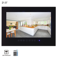 Souria 21.5 inch Bathroom Waterproof Hotel Luxury 1080P LED TV Videos Entertainment Appliance