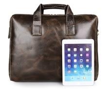 купить J.M.D High Quality Guaranteed Genuine Leather Handbag Classic And Practical Shoulder Bag Large Capacity Laptop Bag 7167C-1 дешево