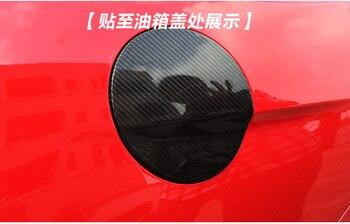 Ford Mustang Için Fit Modifiye Karbon Fiber Yakıt Deposu Kapağı