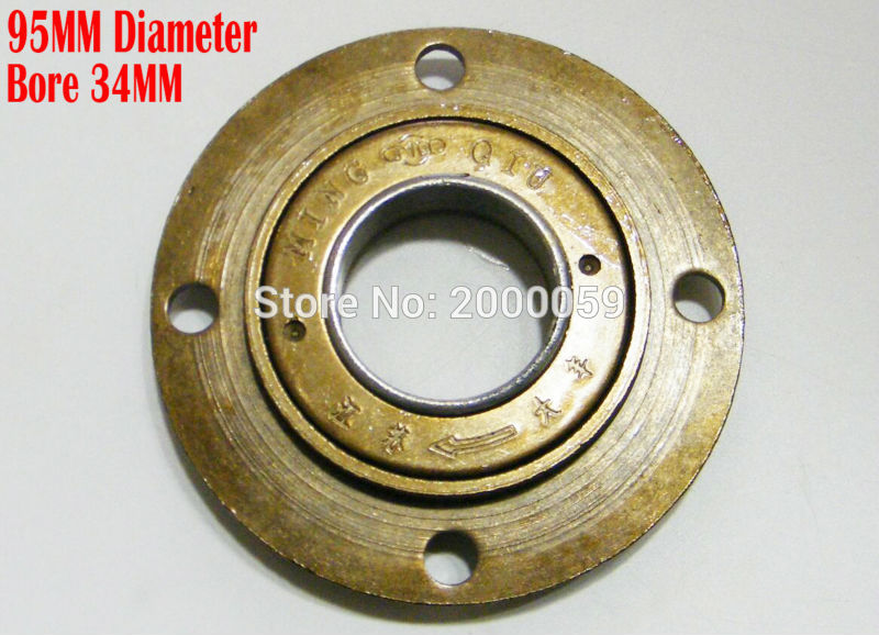 95MM Bore 34MM Flywheel Electric scooter Freewheel 4 bolt Tricycle Clutch Bearing