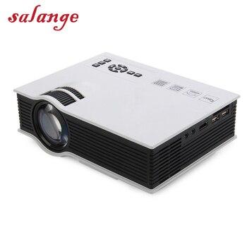 UC40 Plus LED Mini Projecteur Full HD 1080 P 800 lumen Home Cinéma Beamer Proyector avec HDMI AV SD VGA
