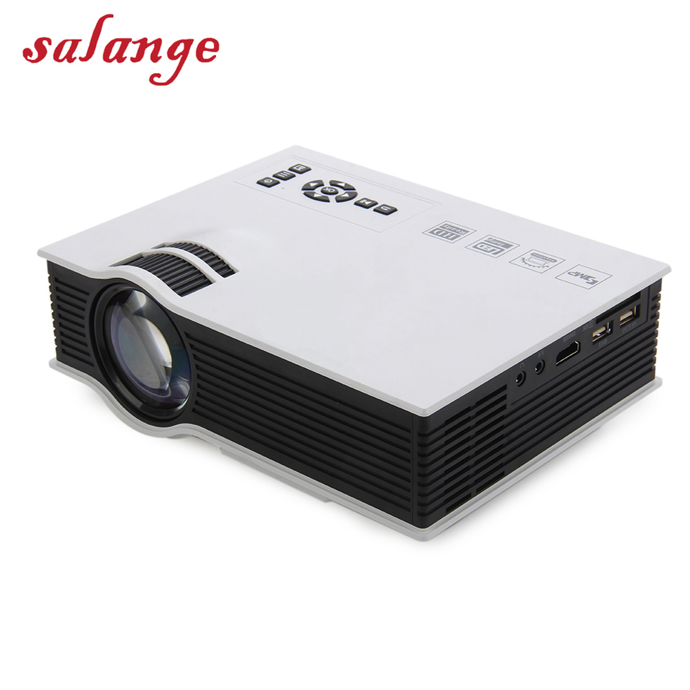 UC40 UC46 Plus LED Projector Full HD 1080P 800 lumen Home Theater Beamer Proyector with HDMI AV SD VGA