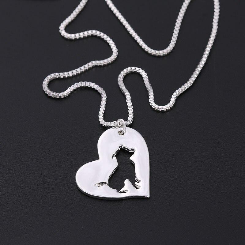 Новый модный милый маленький Питбуль кулон Колье Ожерелье женщины ребенок ювелирные изделия довольно шарм нежный рождественский Мультфил...