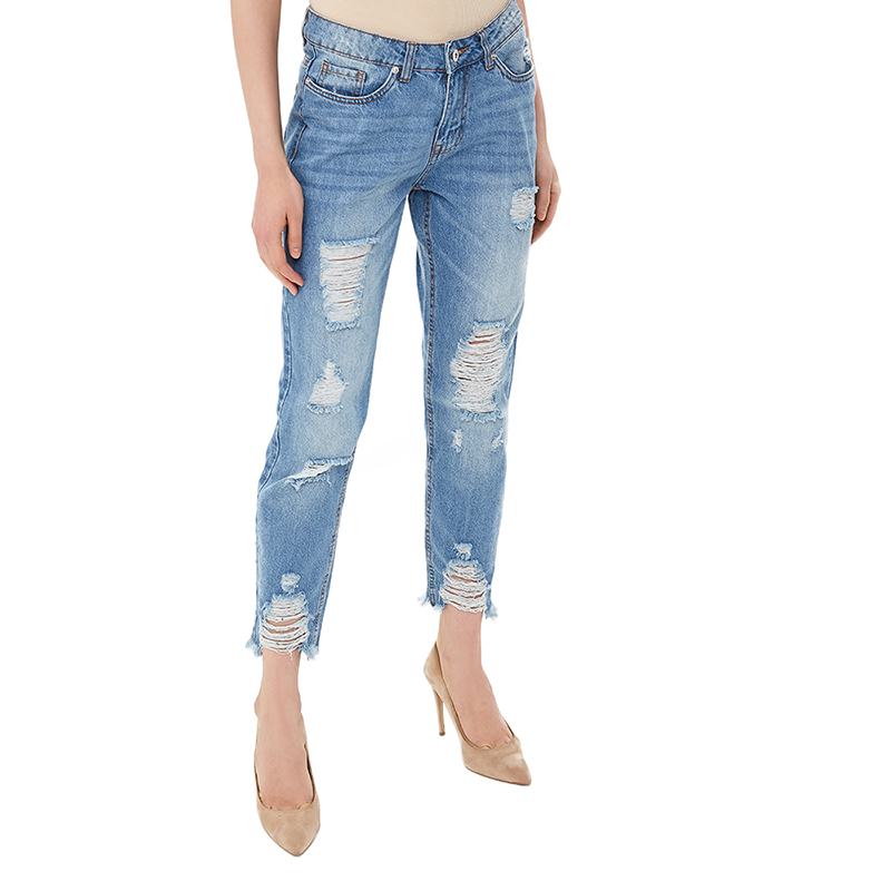 Jeans MODIS M181D00288 women pants  clothes apparel for female TmallFS jeans modis m181d00290 women pants clothes apparel for female tmallfs