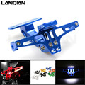 CNC Motorcycle Adjustable Angle License Number Plate Frame Holder Bracket For Yamaha tmax 500/tmax 530 TMAX 500/530 xp500 XP530