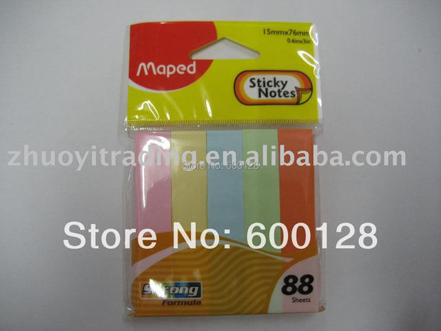 maped 758210 memo pad mini color sticky notes wholesale and retail