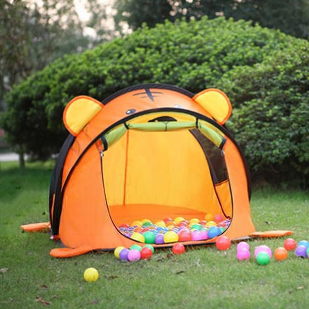Portable Cartoon Animal Children Toys Tents Large Baby Balls Pool Pop Up Kids Play House Outdoors Infant Travel Tent Teepee