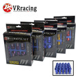 VR RACING- D1 LIGHT WEIGHT WHEEL RACING WHEEL LUG NUTS P:12*1.5,12*1.25, L:52mm (20pcs/set) WHEEL NUTS VR-D1215or12125