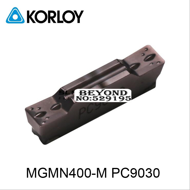 MGMN400 M PC9030 MGMN400 Two headed Cnc Cutting Korloy Coated Carbide Turning Insert For Grooving Holder