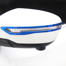 2 pz Adatta per X-trail t32 Qashqai j11 2014-2018 per Murano 2015 2016 Specchietto retrovisore trim In acciaio Inox A Specchio Striscia di Protezione