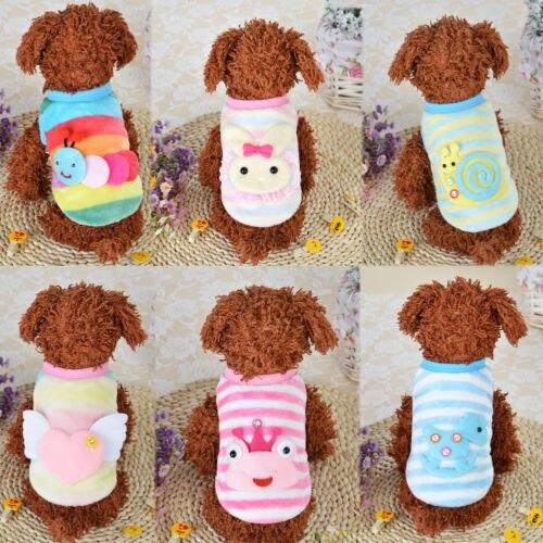 Cartoon Dier Huisdier Trui Kleine Hond Vest Winter Mode Puppy Kostuum Kleding Ademend Mesh Vest Huisdier Kat Appare Haren Voorkomen Tegen Grijzing En Nuttig Om Teint Te Behouden