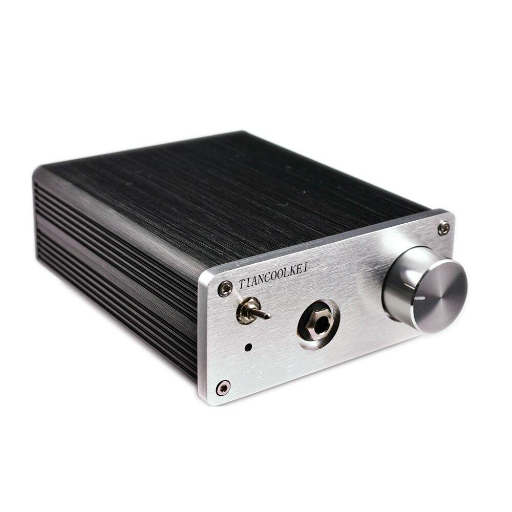 Профессиональный усилитель для наушников TIANCOOLKEI JRC4580DD 4 opamp DIY, улучшенное качество звука, чем усилитель для наушников lehmann SOLO