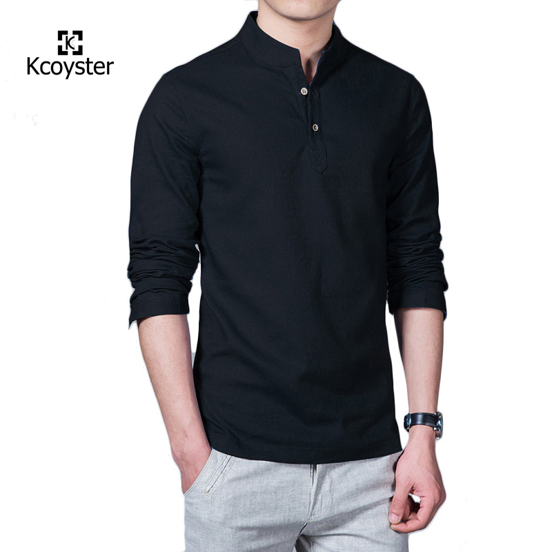 Online Buy Wholesale Banded Collar Shirts Men From China