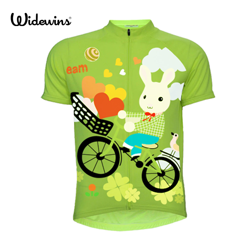 Cycling Clothing Short-Sleeve Hot-Selling Girl Summer Breathable Jersey 7082 Quick-Dry